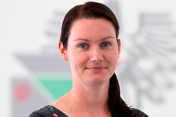 Mitarbeiterin Gabriella Horvath-Körbei