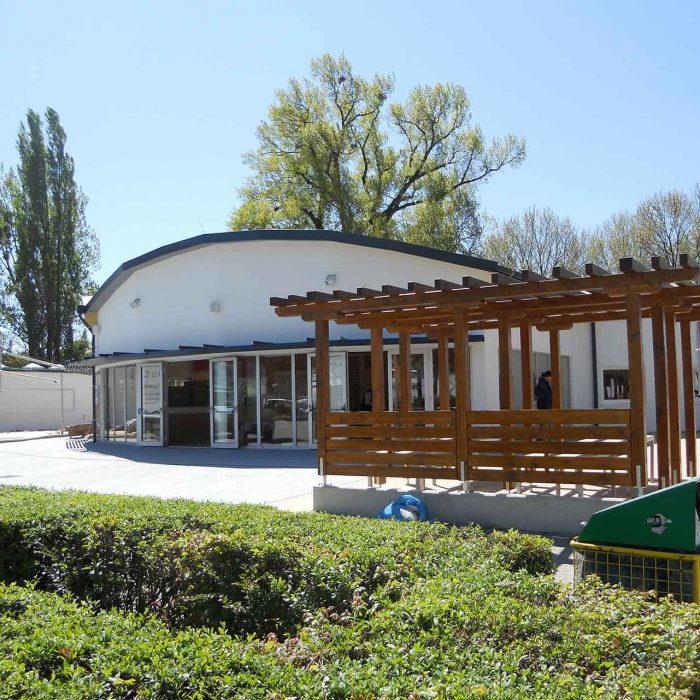 Neubau Gastronomie Stationbad