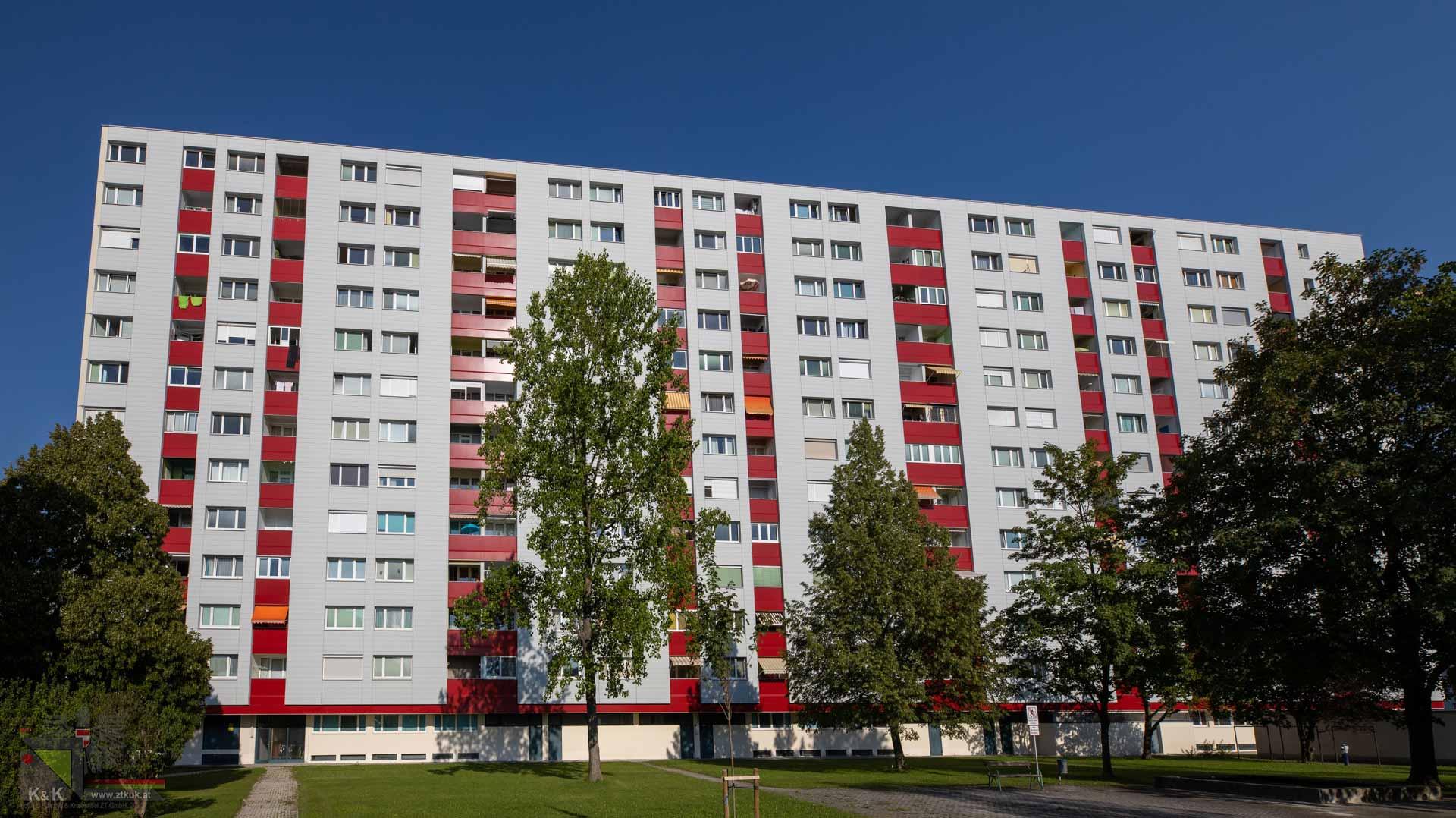 Fassadensanierung Wohnhausanlage