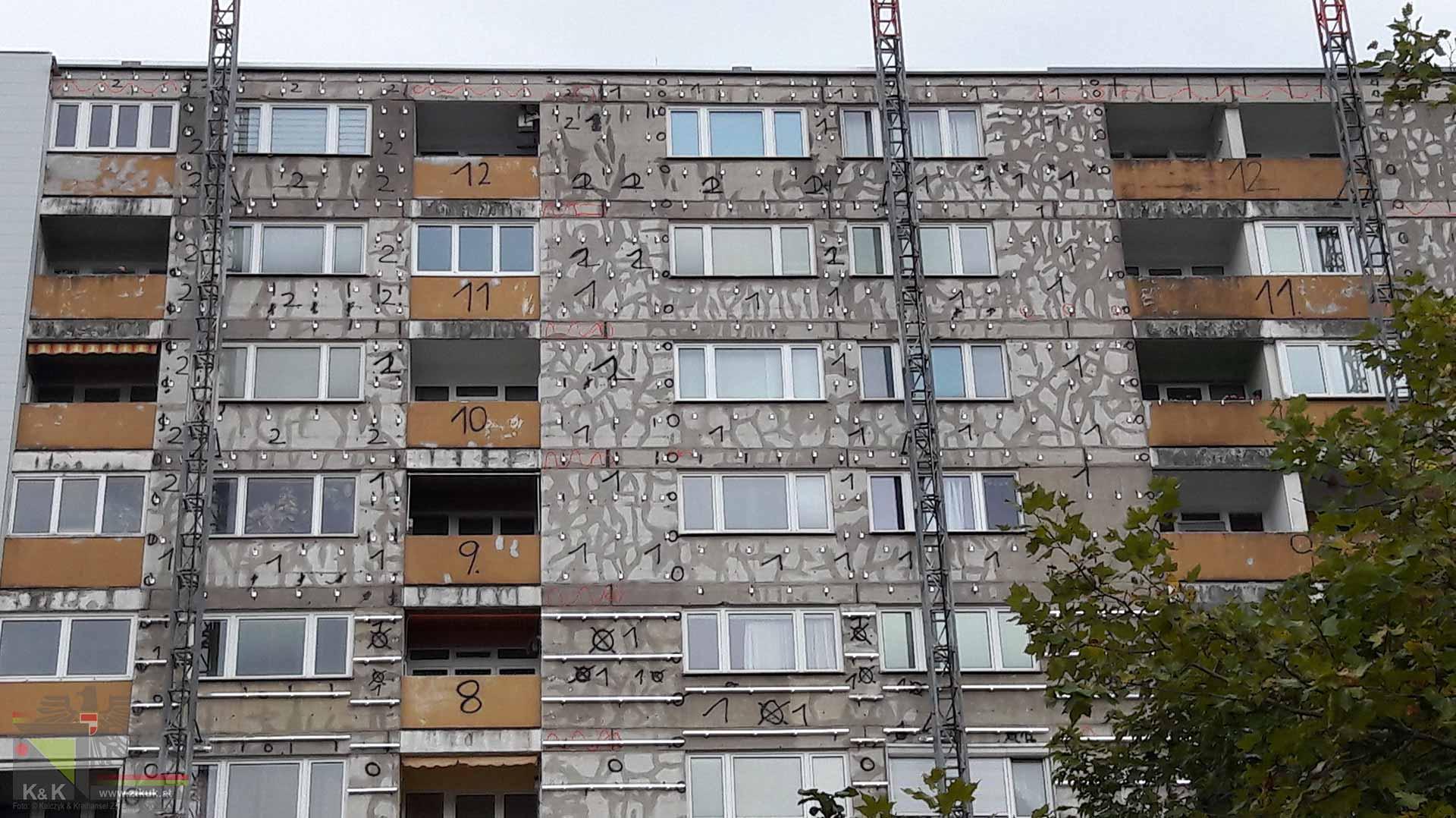 Fassadensanierung Bauphysik