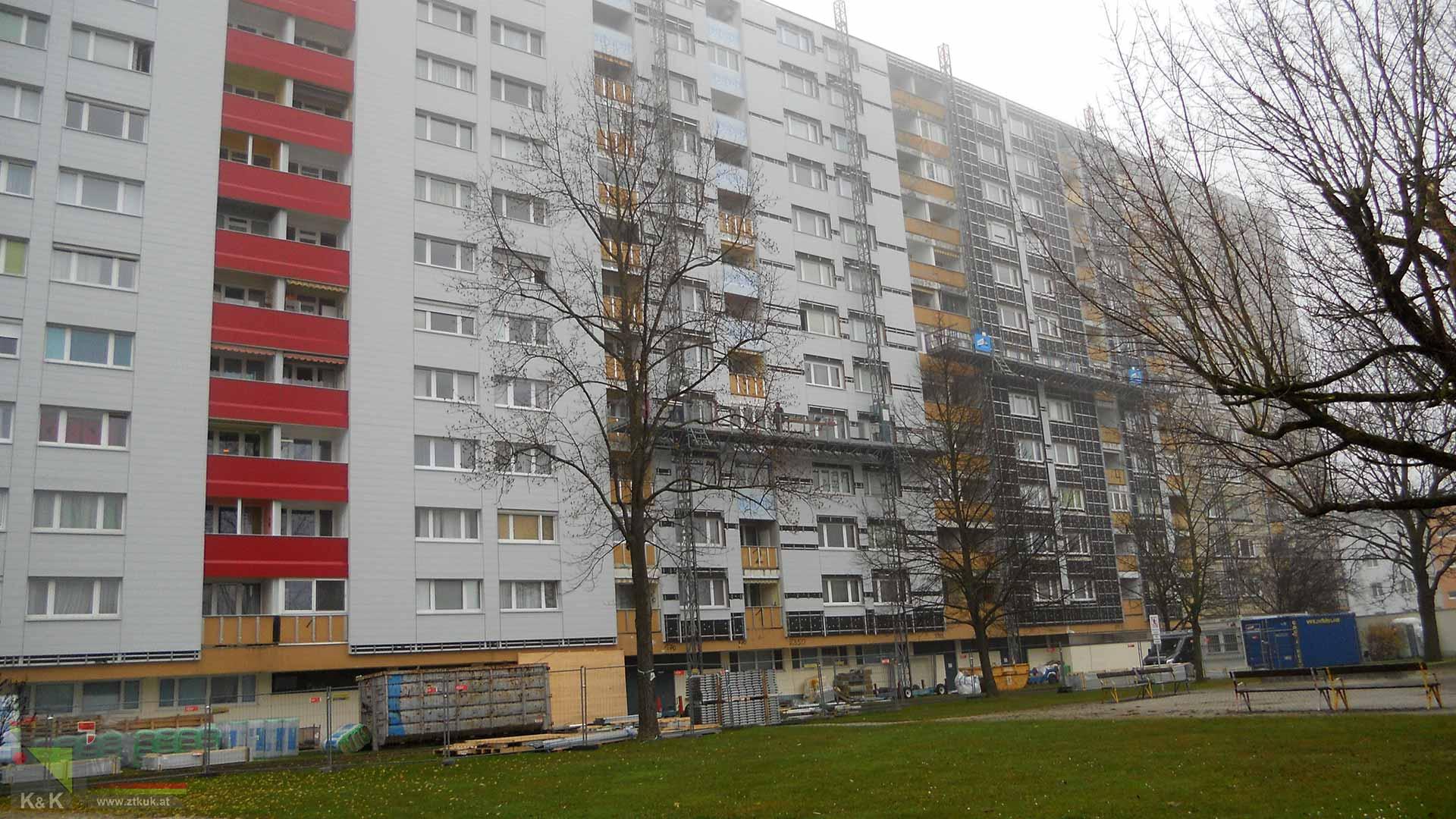 Fassadensanierung ÖBA