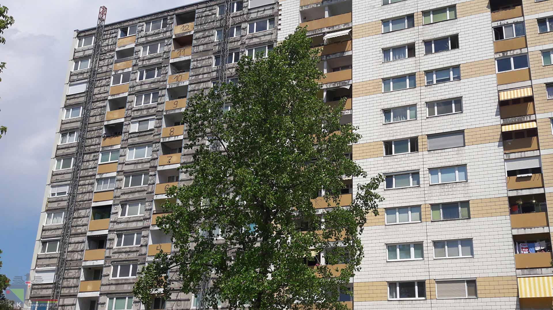 Fassadensanierung BauKG