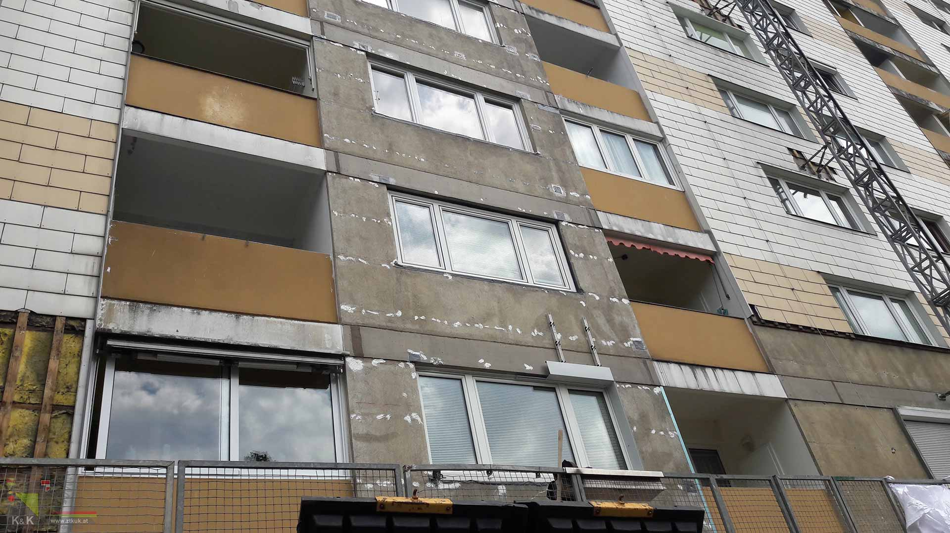 Fassadensanierung Bauaufsicht