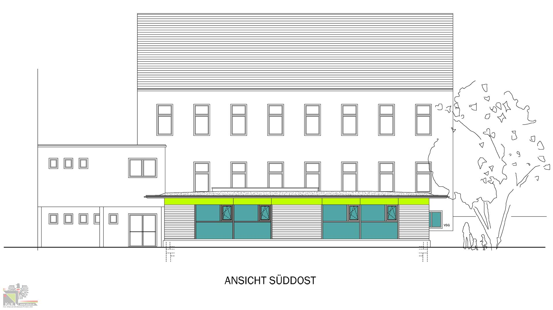 Detailplanung Kindergarten Kleinzell