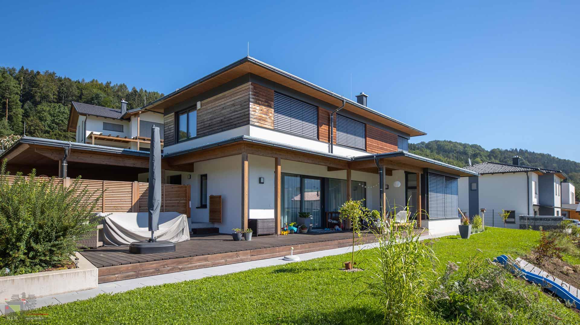 Einfamilienhaus im Grünen
