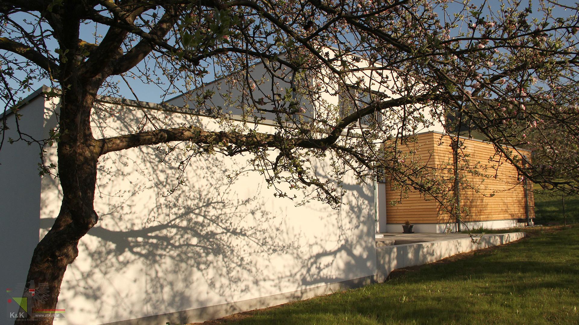 Einfamilienhaus Rückseite