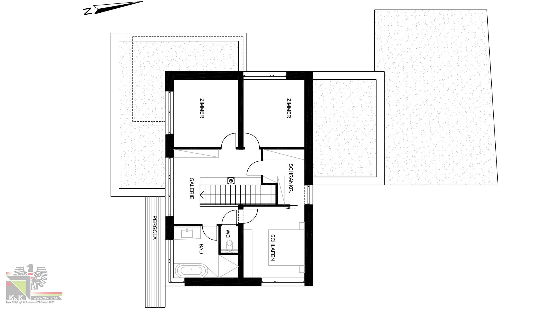 Einfamilienhaus Obergeschoss