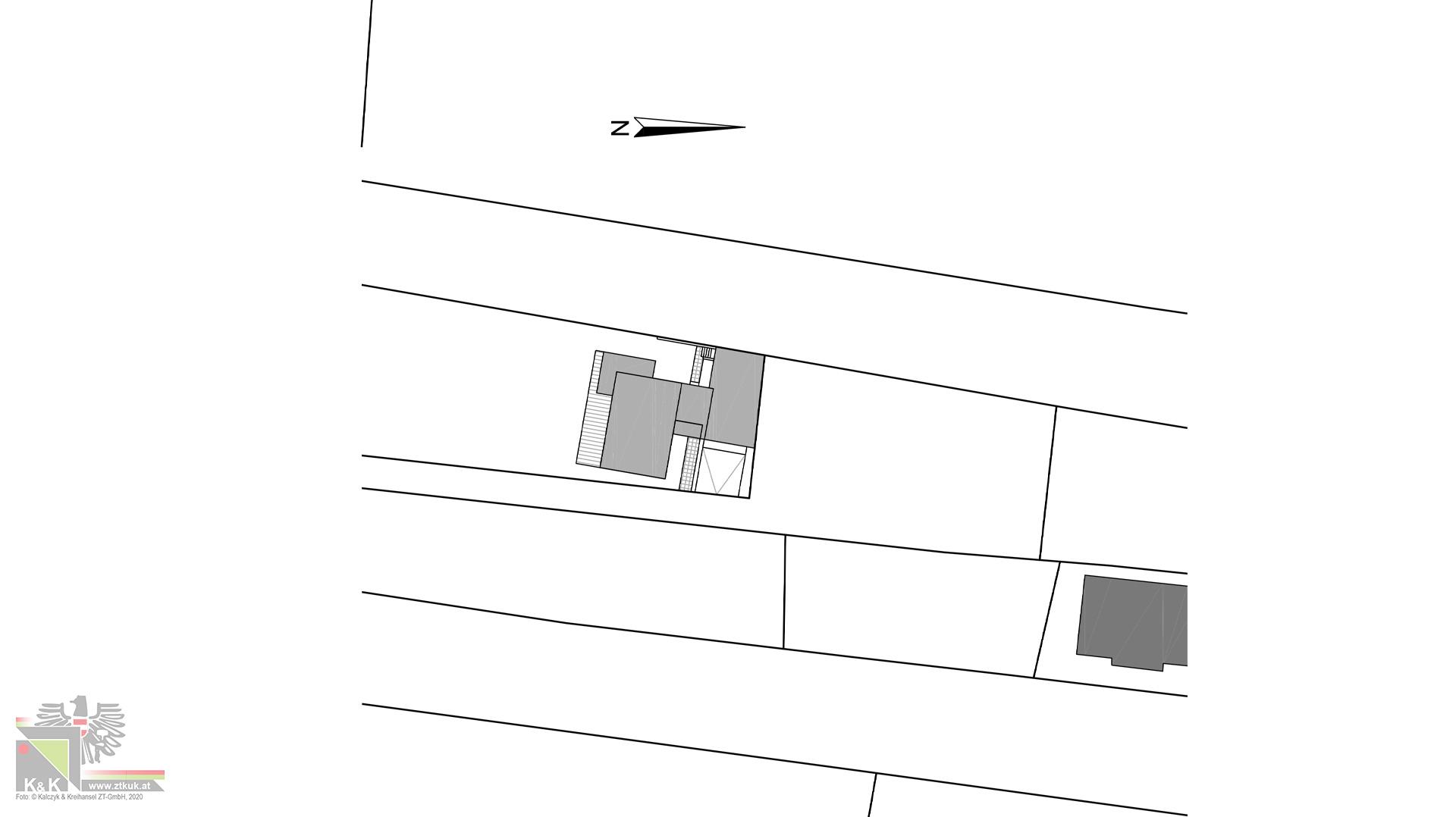 Einfamilienhaus Lageplan