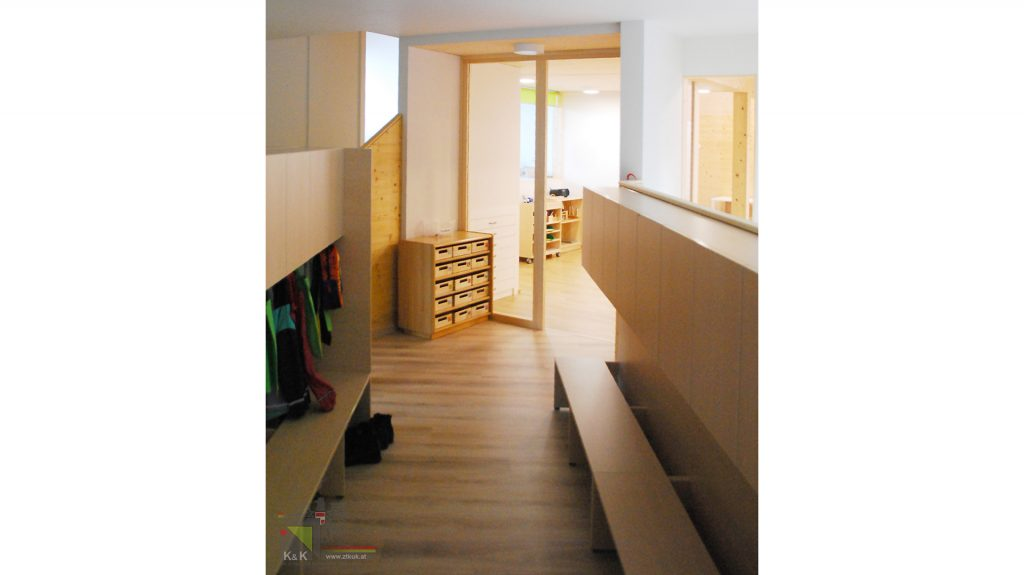 Kindergarten Lilienfeld Garderobe