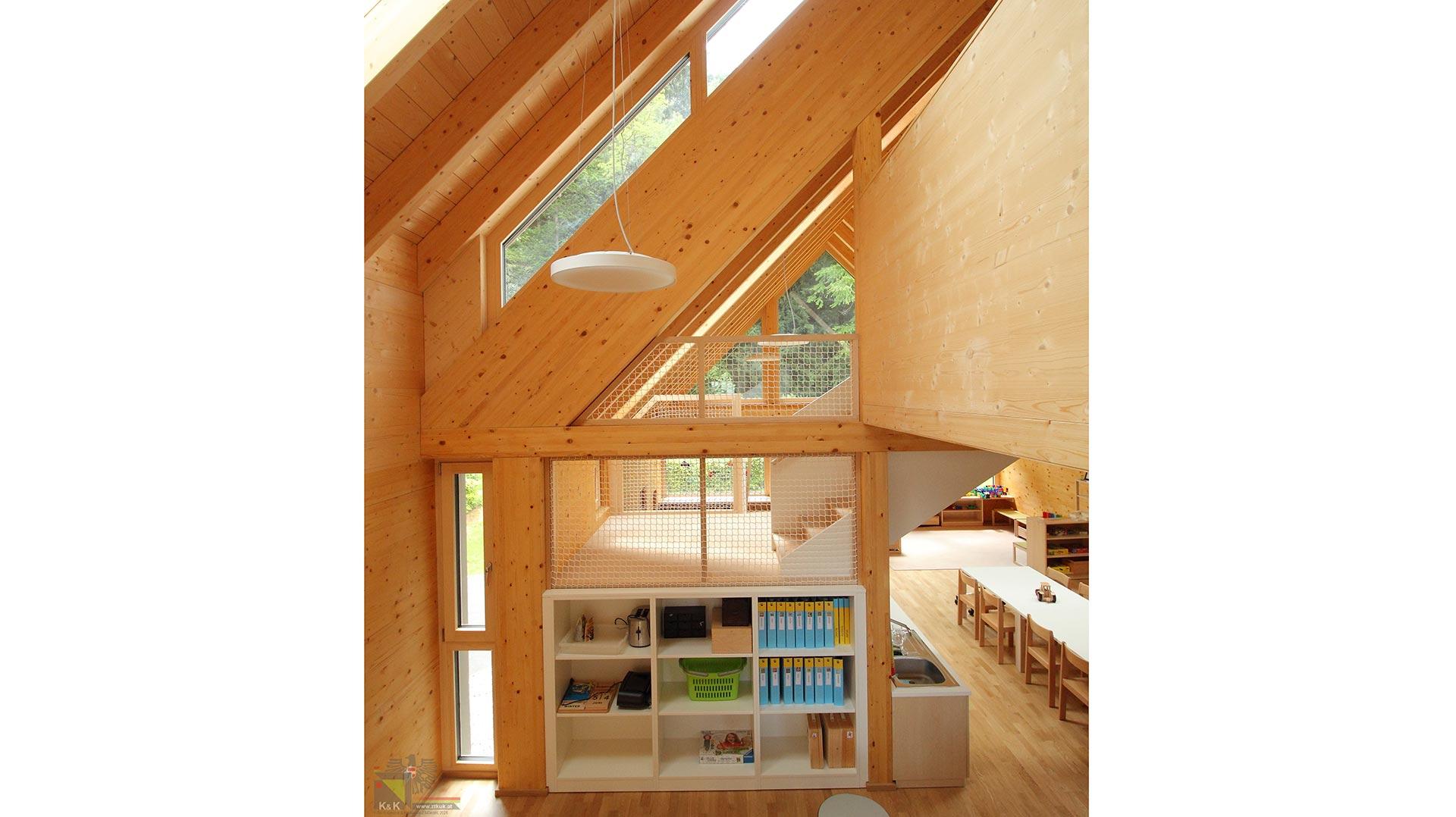 Innenarchitektur Holzbauweise