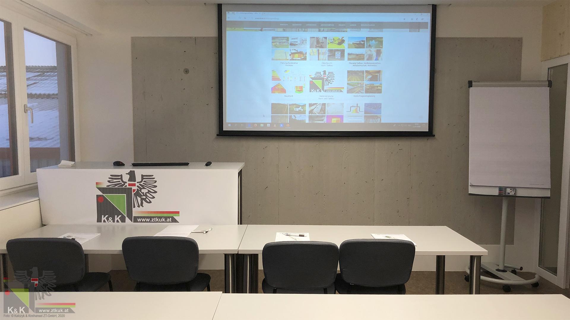 Neuer Besprechungsraum