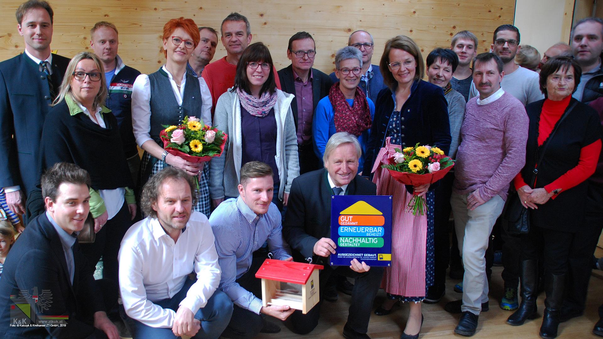 Kindergarteneröffnung in Lilienfeld