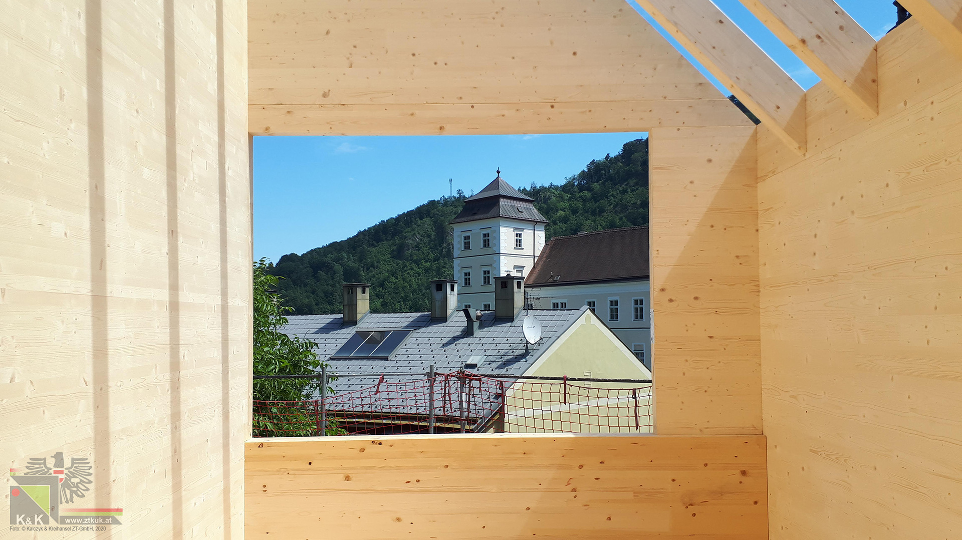 Kindergarten Lilienfeld Baustelle
