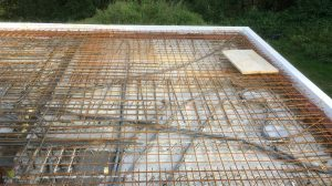 Betonplatte Eisenmatte