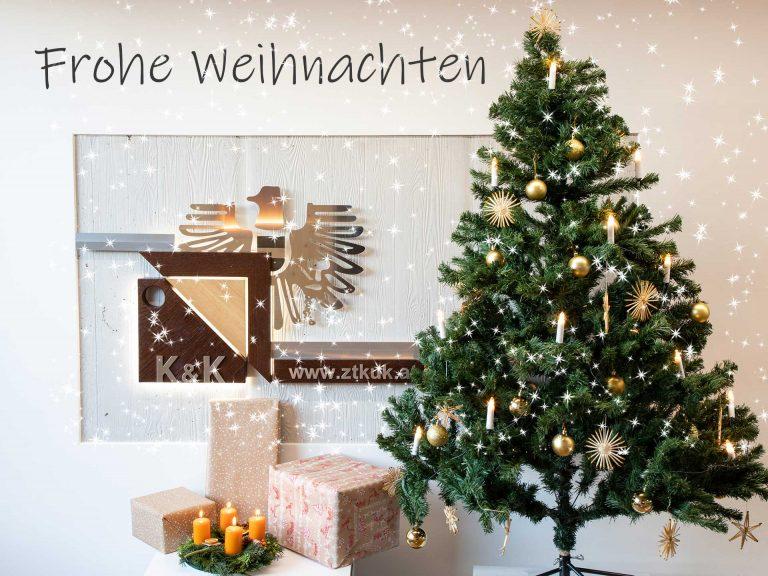 Frohe Weihnachten ZTKuK