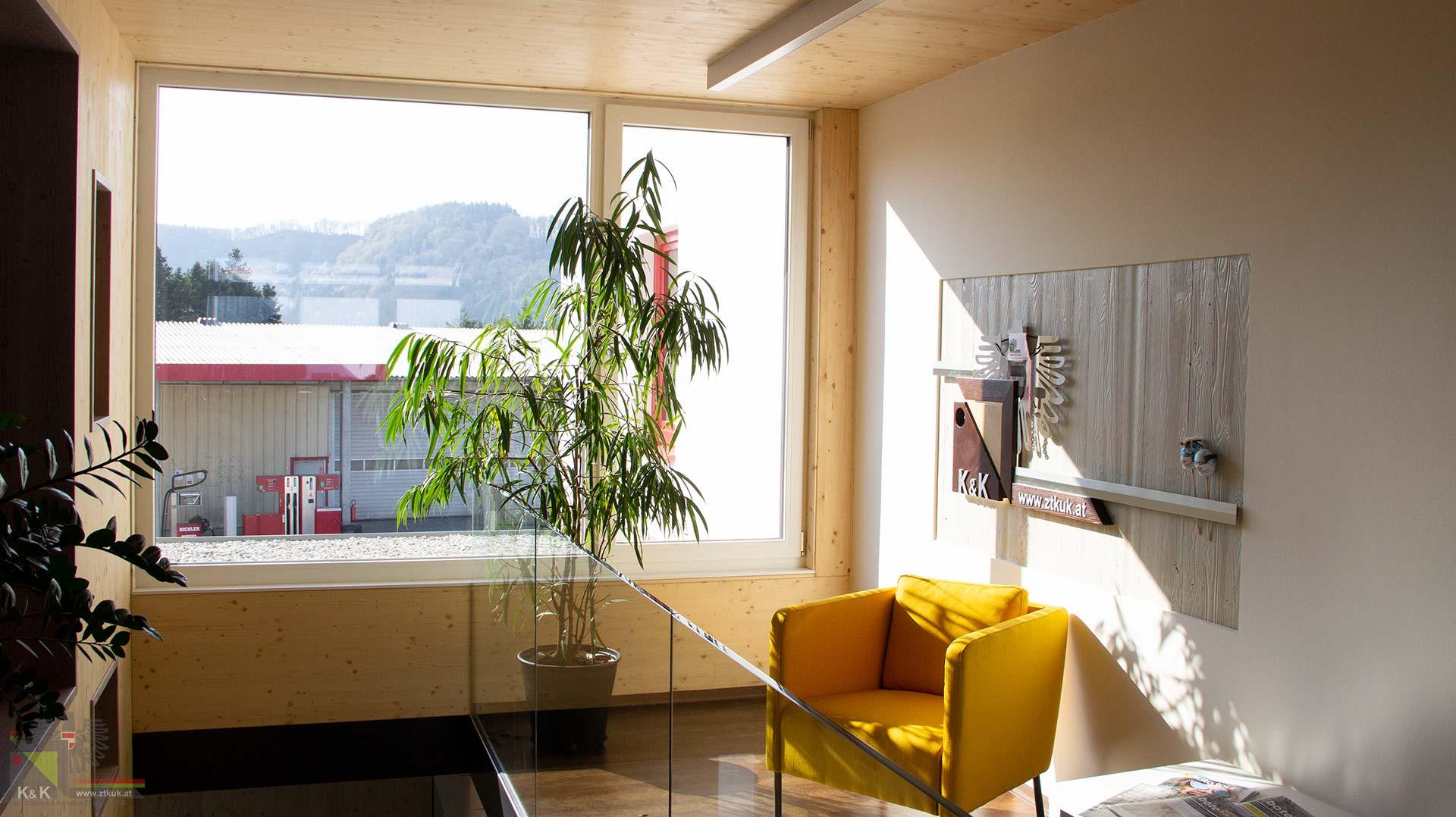 Neues Büro - Vorraum