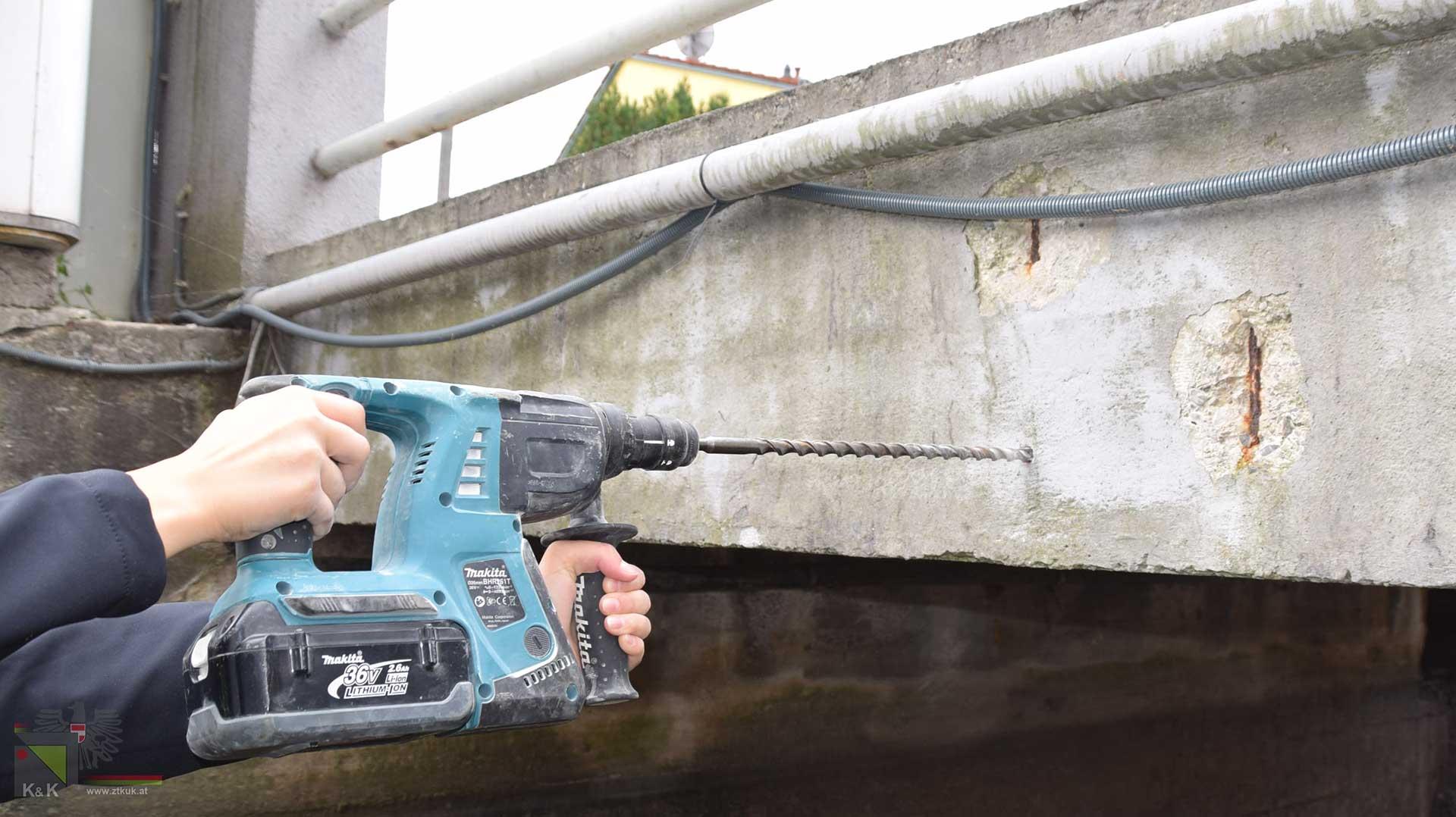 Brückenüberprüfungen - Materialprüfungen