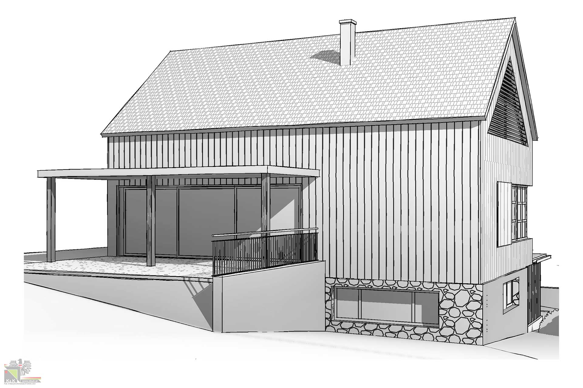 Planung Einfamilienhaus