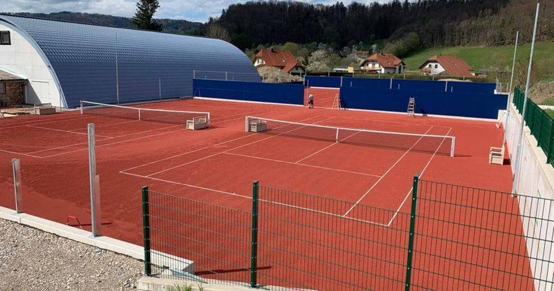 Sanierung Tennisplatz