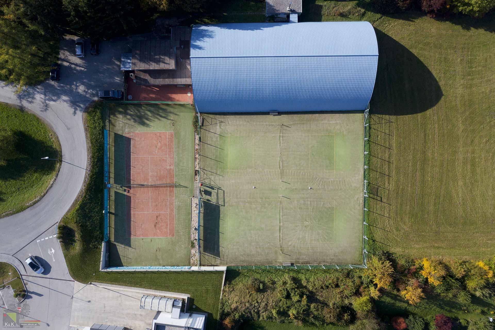 Modernisierung Tennisanlage