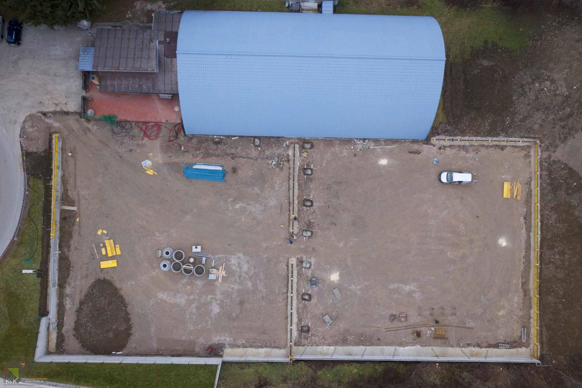 Sanierung Tennisanlage