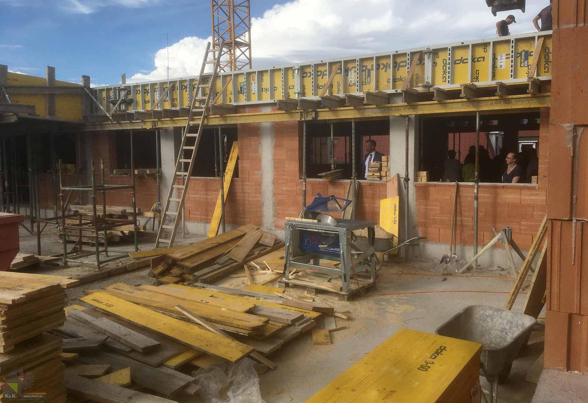 Neubau Baustelle