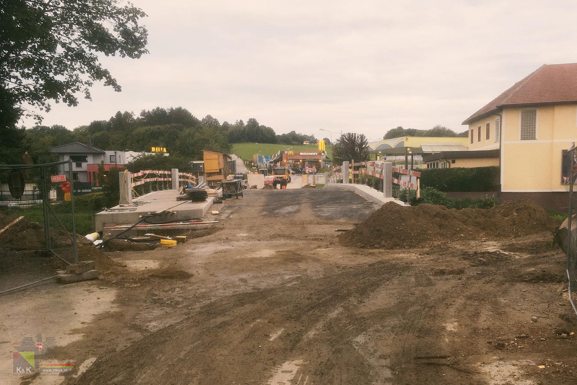 Neubau Brücke