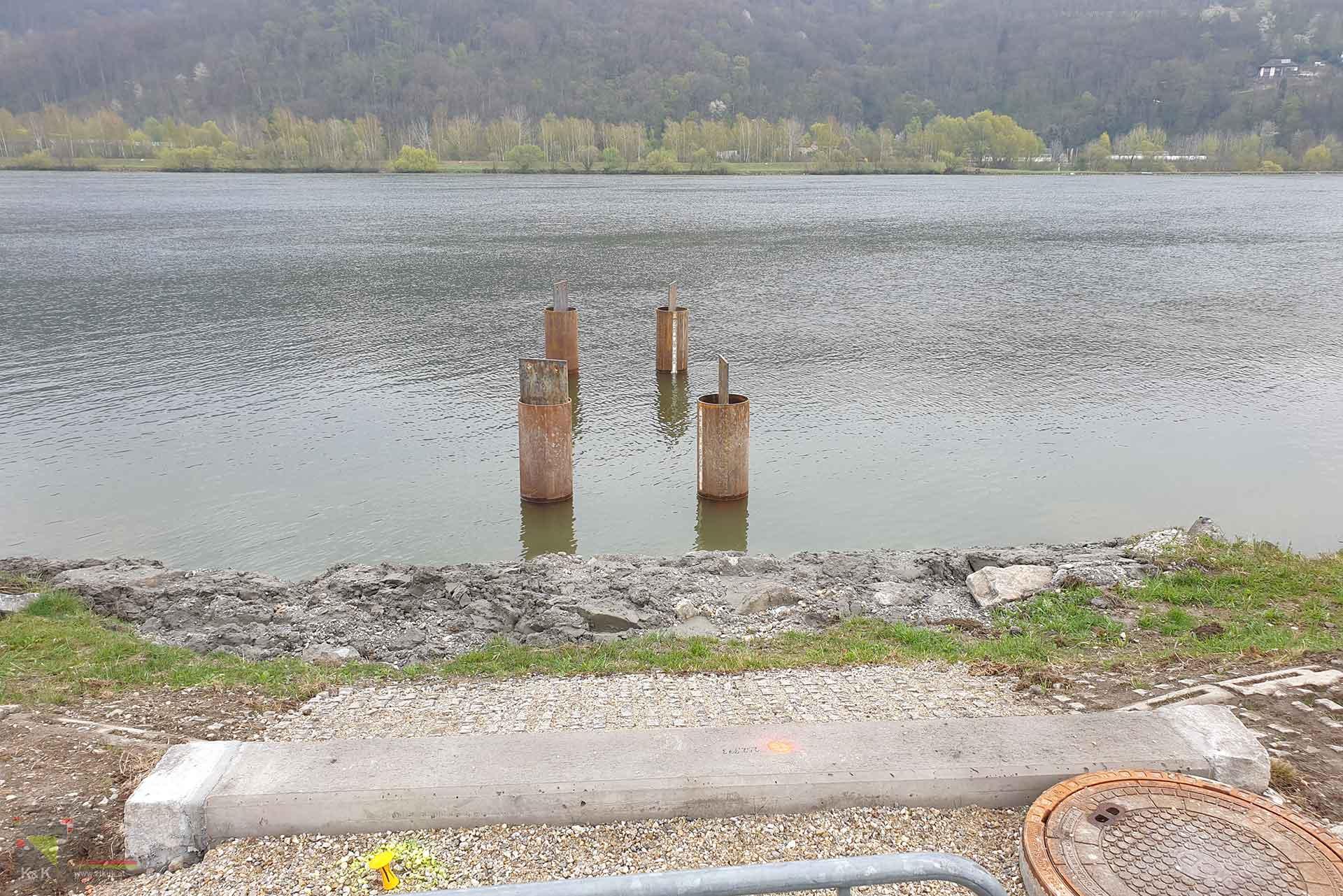 Trockengutlände Linz - Planung Tiefbau